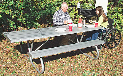 special needs picnic tables