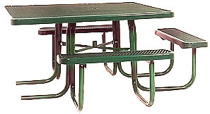 Picnic tables for special needs