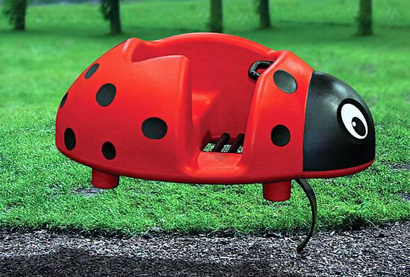scarlet the ladybug spring toy