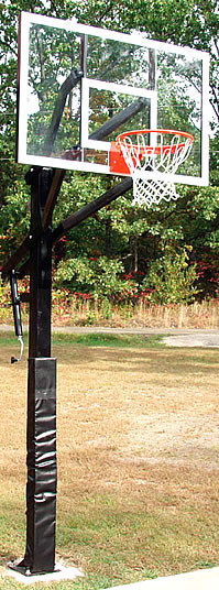Adjustable basketball goal/ ADA Adjustable Basketball System
