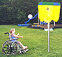 special needs playground equipment :: sports and fitness :: ada funball set/ ADA Sports Equipment