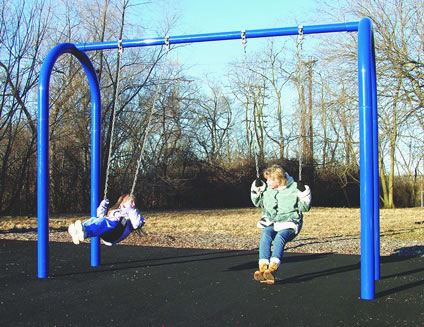 Arch Post Swing Set