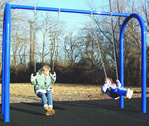 special needs swingset structures