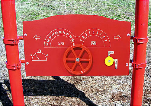 ADA Steering Panel Play Structure