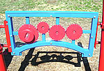 ADA play structure gears panel