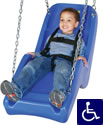 Special needs playground equipment, ADA swingseat