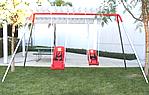 double seat ada swing set