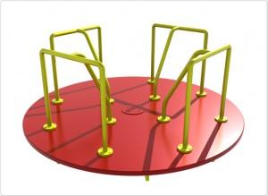 8 foot merry-go-round/ merry-go-rounds