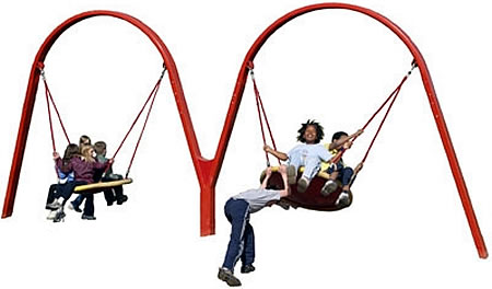 playgroundequipment_swingsets_biggo_duo+/ biggo duo accessible swing