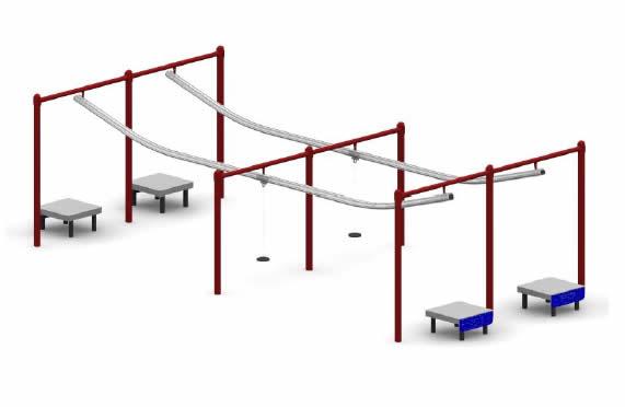 special needs zipline double